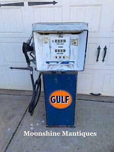 Vintage GULF Southwest Gas Pump - Mancave Decor / Restoration Project