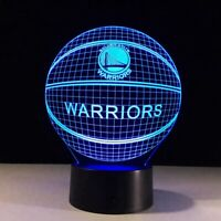 Golden State Warriors GSW Stephen Curry Kevin Durant Light Lamp Collectible Gift