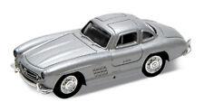 HO 1:87 Atlas/Welly Mercedes-Benz 300SL (1950's) Silver