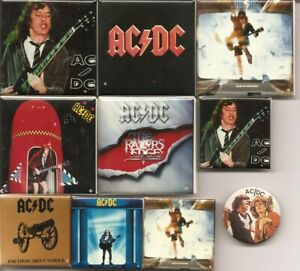 Vintage AC/DC official pins