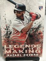2018 Topps Legends In The Making RC #LITM-1 Rafael Devers Boston Red Sox