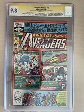 avengers annual 10 cgc 9.8 SS Lee X 3!  1st Appearance Of Rouge & Madelyn Pryor