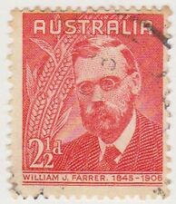 (PDX381) 1948 AU 2½d red W. J. Farrer (C)