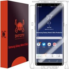 Skinomi FULL BODY Skin+Clear Screen Protector For Samsung Galaxy Note 8