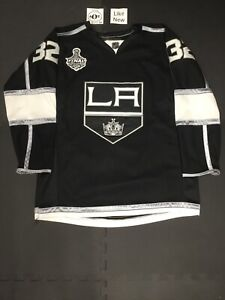 Reebok 2012 Stanley Cup Finals Jonathan Quick LA Kings Authentic Jersey Size 54