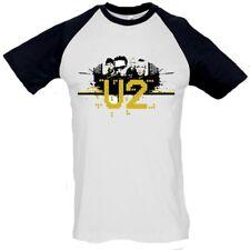 Camiseta hombre U2 t shirt men pop hard rock varias tallas different sizes