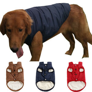 Pet Dog Warm Clothes Sweater Winter Puppy Chihuahua Fleece Vest Jacket Coats