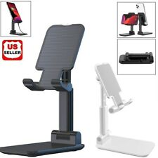Adjustable Cell Phone Tablet Desktop Stand Desk Holder Mount Cradle iphone ipad