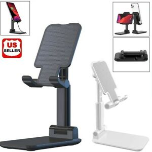 Adjustable Cell Phone Tablet Desktop Stand Desk Holder Mount Cradle iphone ipad