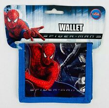 Marvel Spiderman 3 Wallet- Kids Bi-Fold Plastic Wallet