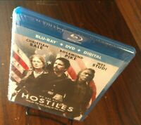 Hostiles (Blu-ray + DVD + Digital)-NEW (Sealed)-Free Shipping with Tracking
