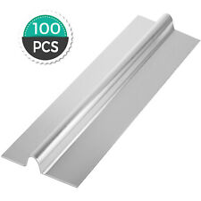100pcs 2ft U Shape Aluminum Radiant Floor Heat Transfer Plates 12 Pex Tubing