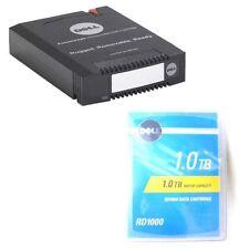 NEW DELL 1TB NATIVE SATA RDX DATA CARTRIDGE RD1000 2J54F Y5G6T G4MWX 440-11930