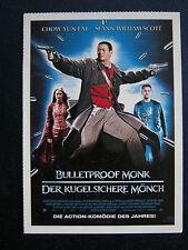 Filmplakatkarte cinema   Bulletproof Monk - Der kugelsichere Mönch Chow Yun-Fat
