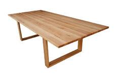local made solid oak hardwood timber Mosman dining table 2100w