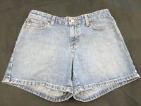 POLO JEANS CO RALPH LAUREN Women's Denim cotton Blue Shorts SATURDAY Size 4