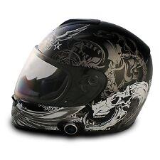 Vcan V136B Blinc Bluetooth Full Face Motorcycle Helmet - DOT