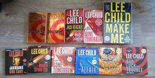 Lot of Lee Child Books and Audiobooks Jack Reacher and Others!