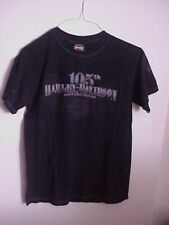 HARLEY DAVIDSON 105TH KEGEL ROCKFORD, IL T SHIRT, MENS SIZE SMALL