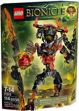LEGO BIONICLE 71313 7-14 LAVA BEAST BESTIA LAVICA NUOVO