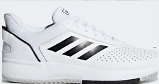 New Adidas Mens Tennis Shoes Trainers Sneakers Sports White Running US 10.5 UK10