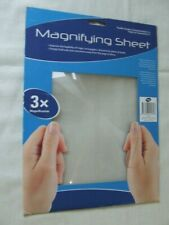 A4 SIZE 3x MAGNIFYING SHEET
