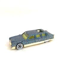 Hot Wheels Limousine Blue Metal Flake Limo 1990