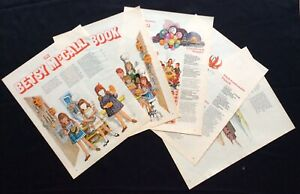 Betsy McCall Mag. Paper Doll, The Betsy McCall Cookbook, Aug. 1970