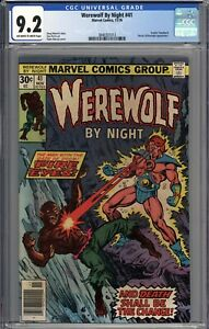 Werewolf By Night #41 CGC 9.2 NM- Brother Voodoo Appearance