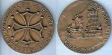 Médaille de table - HAUTE GARONNE conseil général d=77mm poids=218 grammes