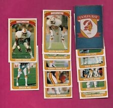 13 X 1990 PANINI TAMPA BUCCANEERS  STICKERS CARD (INV# A4985)