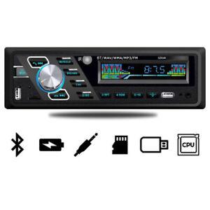24V 4-Channel Digital Car Bluetooth Audio USB/SD/FM/WMA Radio Stereo LED Display