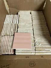 1960s Pink Bathroom Tile