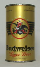 New ListingBudweiser Lager Beer 12 oz. Flat Top Beer Can-St. Louis, Missouri
