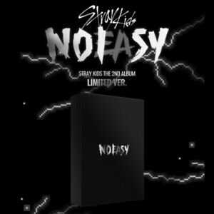 STRAY KIDS NOEASY 2nd Album LIMITED CD+Photo Book+Photo Card+Poster+etc+PrdOrder
