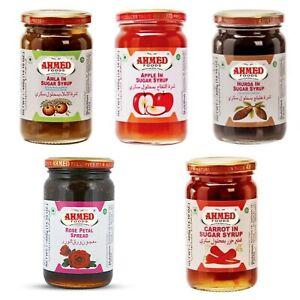 Ahmed Foods Asian Halal Apple Amla Rose Petal Spread Gulkhand Murabba