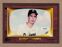 Sandy Koufax rookie year '55 Brooklyn Dodgers rare Color TV extension series