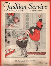 1927 Fashion Service - December - Holiday Number - dinner gowns, evening dresses