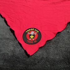 Bsa Tigard Troop Boy Scout Kerchief Bandana Patch Portland Pnw Souvenir Red