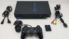Sony PlayStation 2 PS2 Fat Console Original Controller VG CONDT CLEANED TESTED