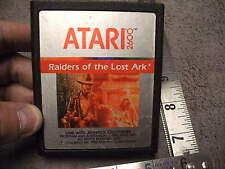 Vintage Atari  2600 Raiders Of The Lost Ark Use Joystick  controller 1982