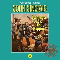 "JOHN SINCLAIR TONSTUDIO BRAUN-FOLGE 32 - ICH JAGTE ""JACK THE RIPPER""   CD NEW"