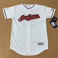 Majestic Cleveland Indians Youth Large Jersey Corey Kluber  #28 NWT