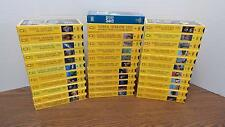 THIRTY-FOUR 1989-1995 National Geographic Educational Videos (VHS) LIKE NEW
