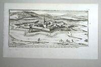 Rocroi - Kupferstich 17.Jahrhundert
