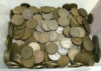 Bulk Lot Australian Penny Pennies 20 Coins 20 Different Dates KGV - QEII