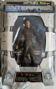 Star Trek Enterprise Broken Bow T'Pol Art Asylum figure