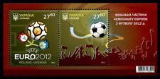 Fußball. EM-2012, Ukraine-Polen. Logo, Ball, Finale, Fans.  Block. Ukraine 2012