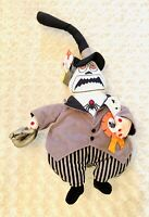 "Disney Store Nightmare Before Christmas Mayor Jumbo 14"" Plush Doll With Tags!"