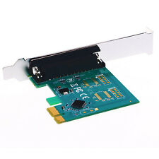 Parallel Port DB25 25Pin LPT Printer to PCI-E Express Card Converter Adapter 1pc